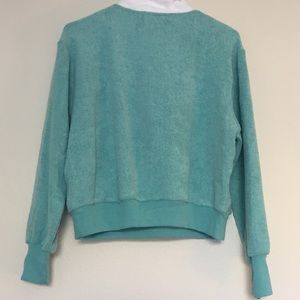 Wildfox Tops - NWT Wildfox zip up pullover